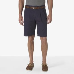 The Perfect Pleated Short, Classic Fit | Black | Dockers® United ...