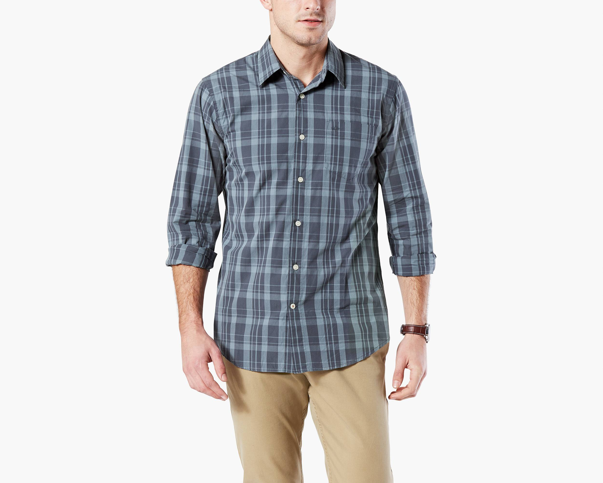 Button down casual mens shirts south park t shirts for Button down t shirts