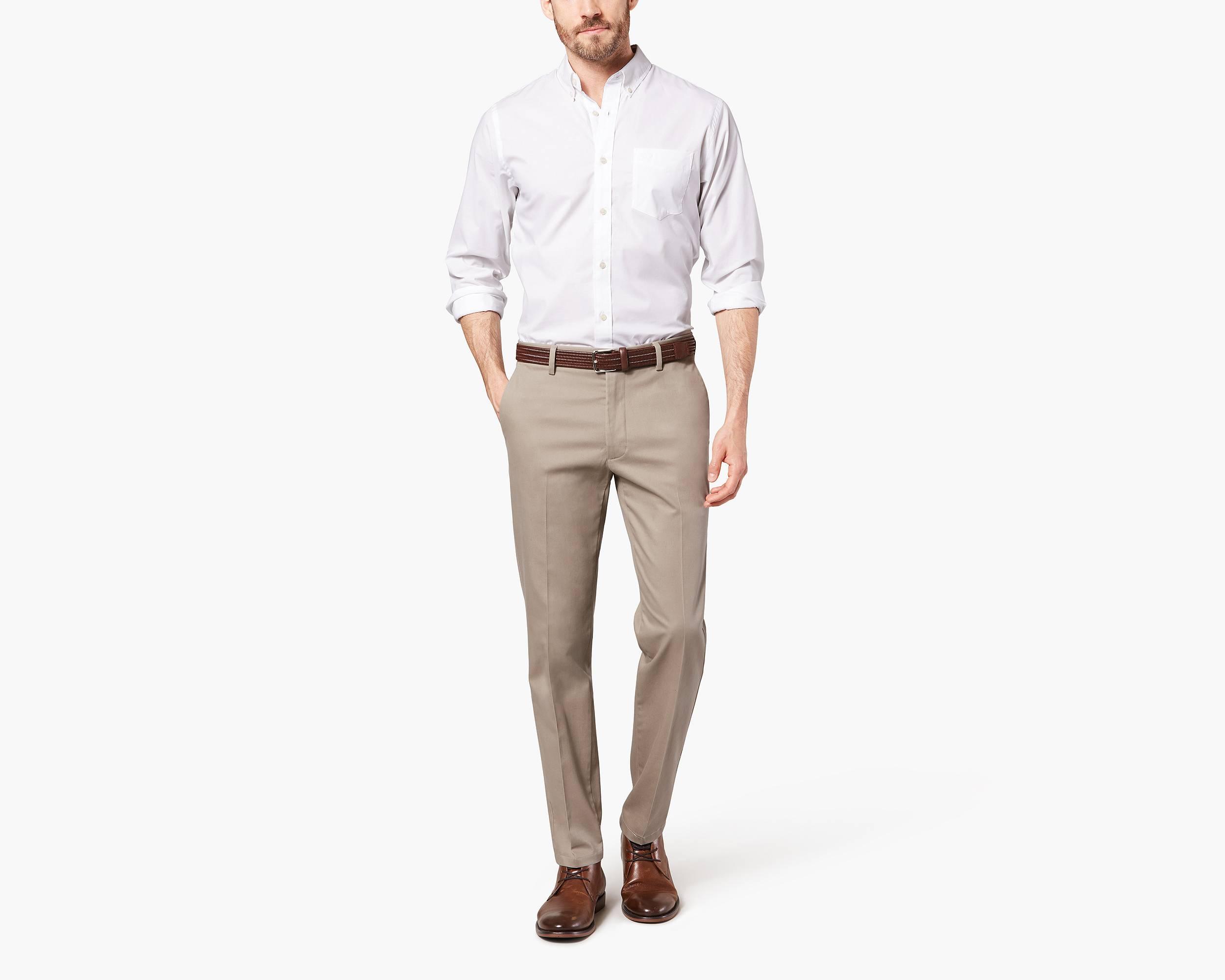 khaki stretch pants signature stretch khakis dockers
