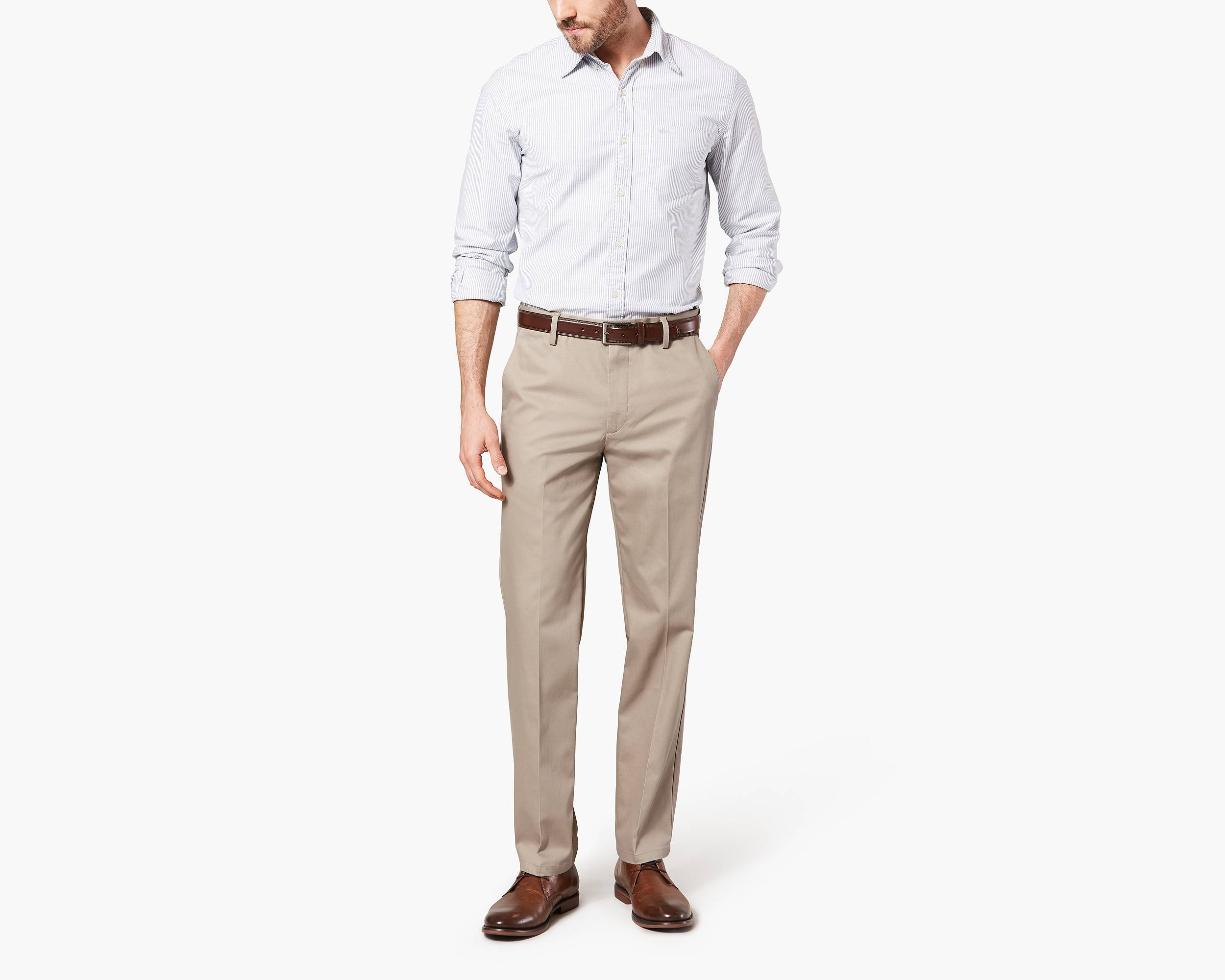 What shoes to wear with khakis men