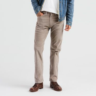 505™ Regular Fit Corduroy Pants | Timberwolf |Levi's® United ...