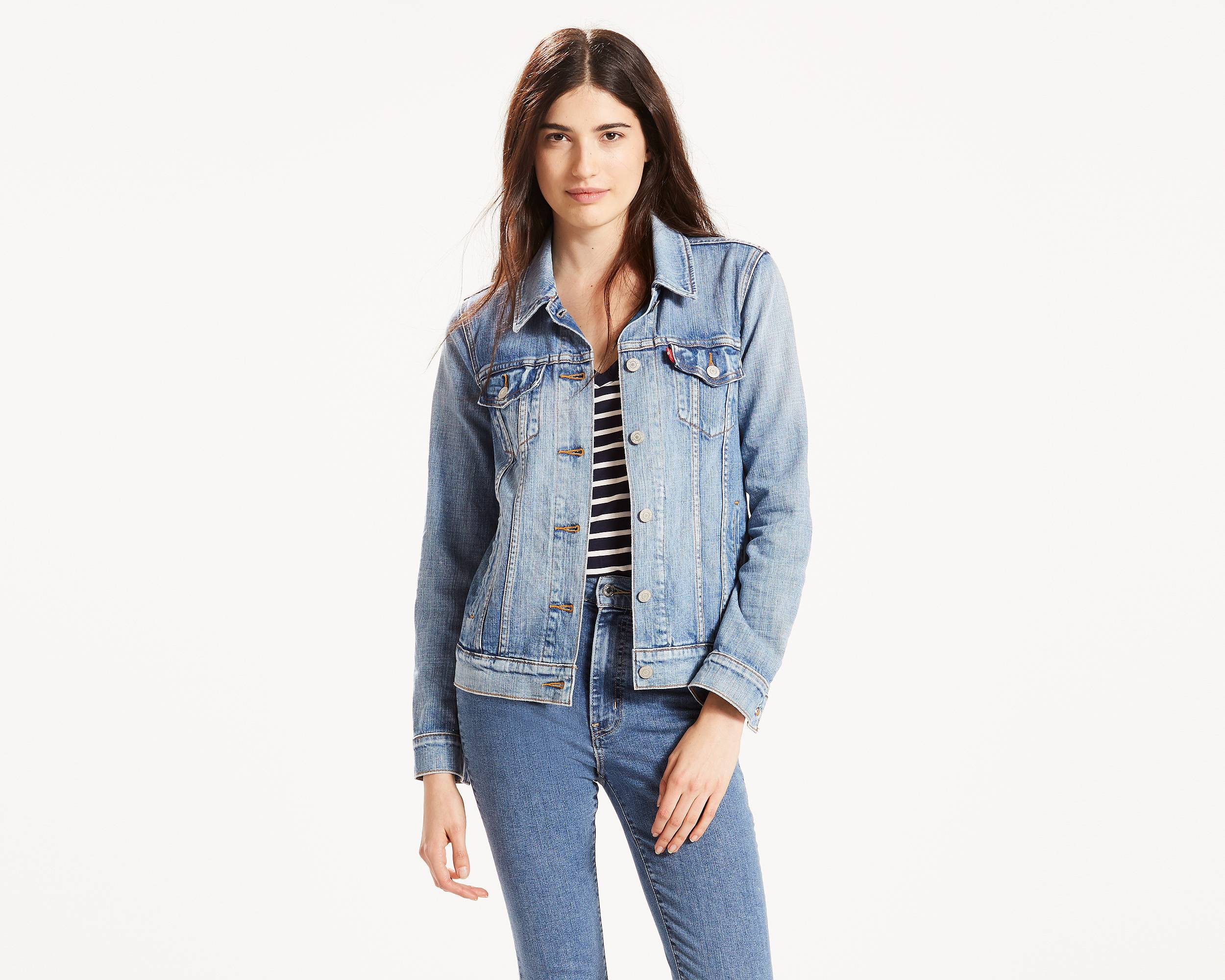 Boyfriend Trucker Jacket | Sunshine Indigo |Levi's® United States (US)