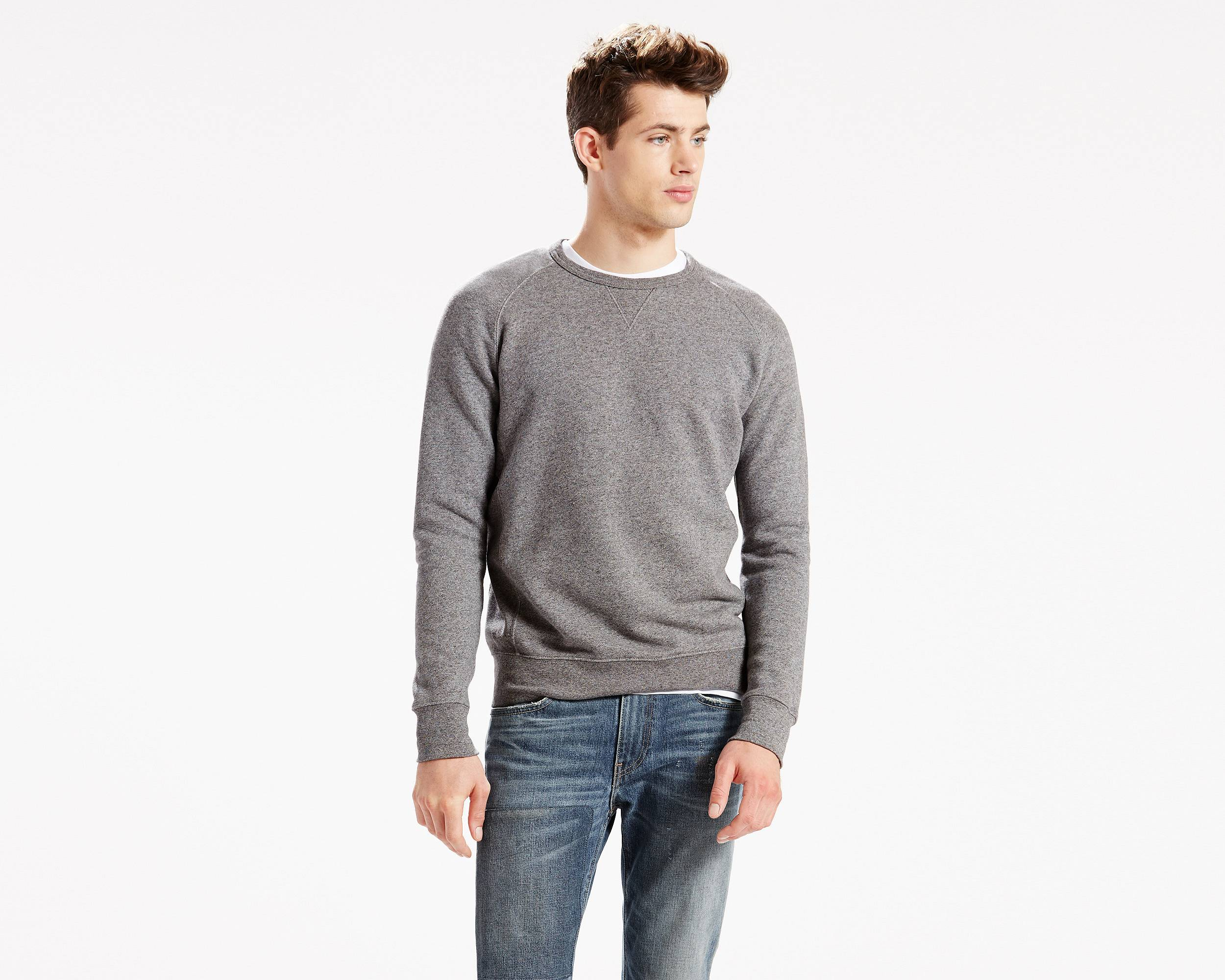 Sweater With Dress Shirt