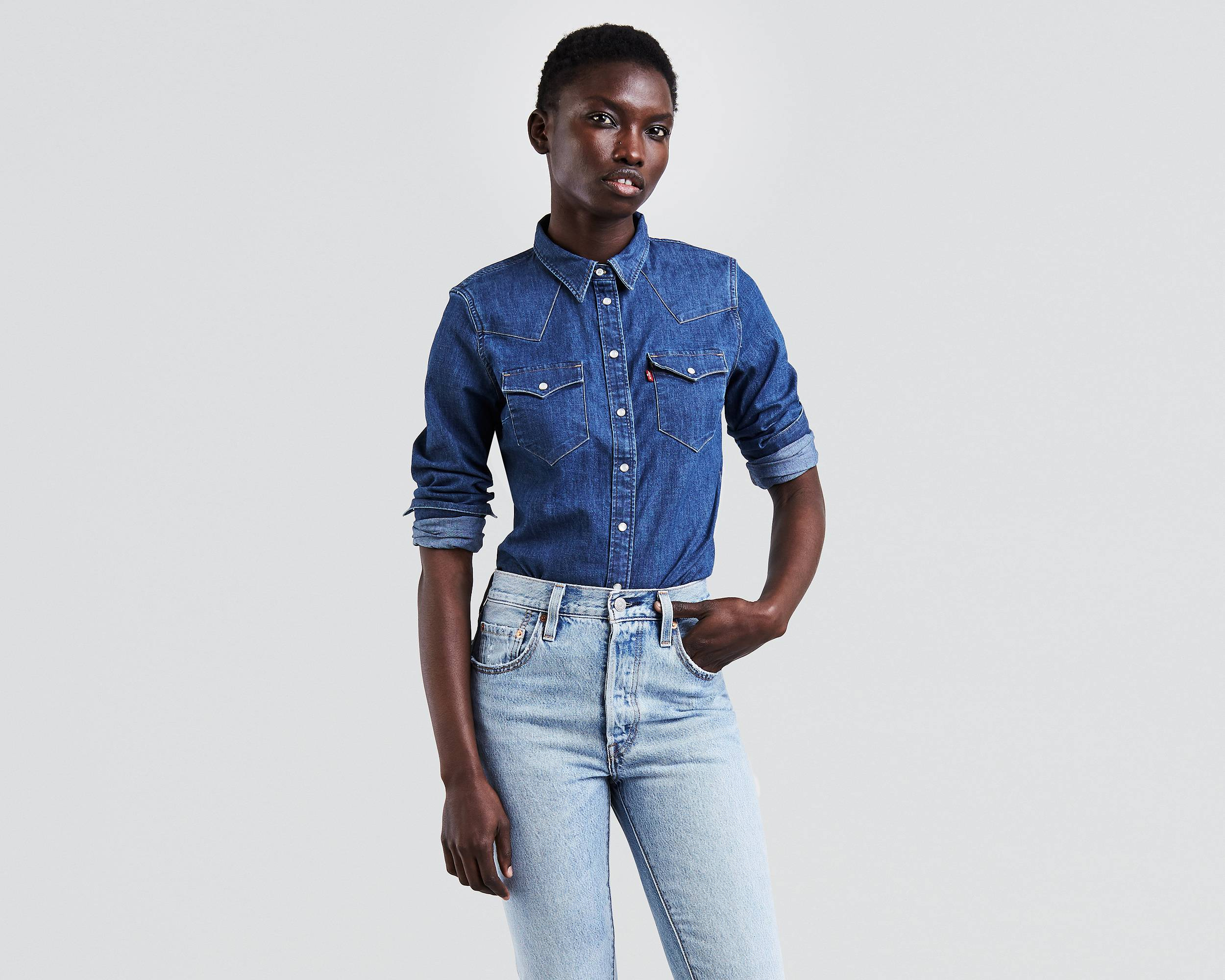 Western Shirts for Women | Shop Denim Shirts | Levi's®