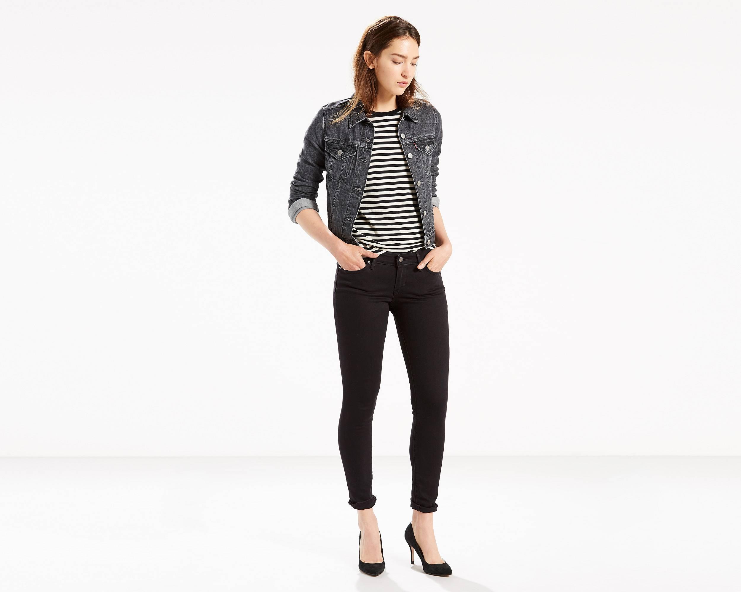 811 Curvy Skinny Jeans | Soft Black |Levi's® United States (US)