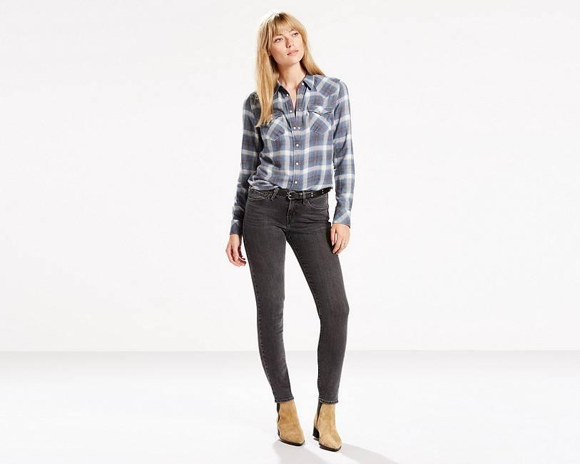 - 811 Curvy Skinny Jeans Grey Game |Levi's® United States (US)
