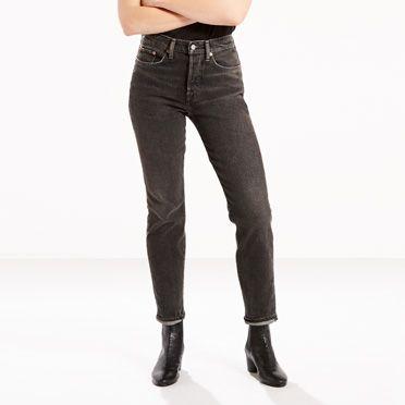 Levis wedgie jeans black