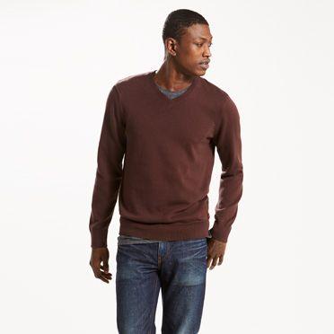 Classic V-Neck Sweater at Levi's in Daytona Beach, FL | Tuggl