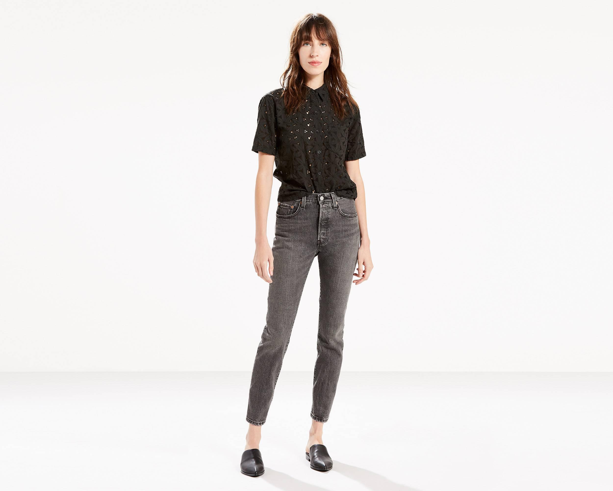 501 skinny jeans black coast levi 39 s united states us. Black Bedroom Furniture Sets. Home Design Ideas