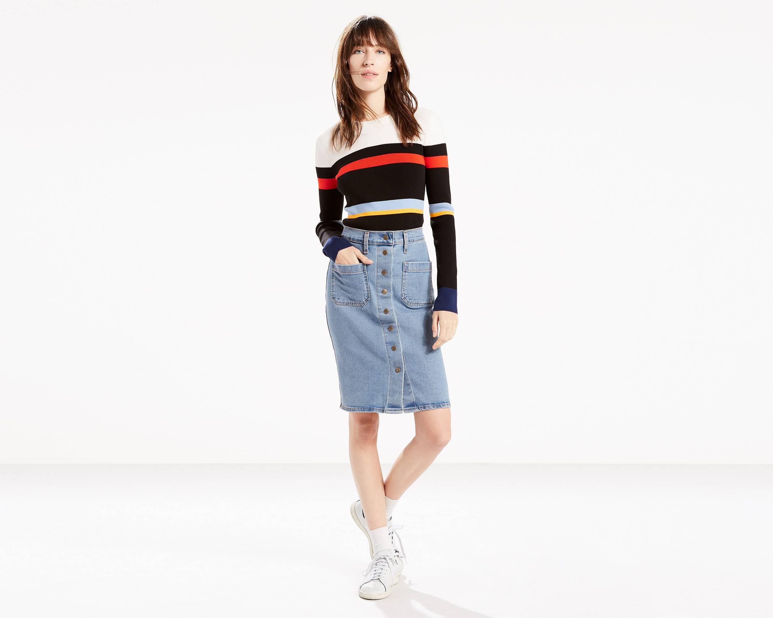 Denim Skirts & Dresses - Shop this Season's Jean Skirts | Levi's®