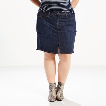 Levi's® Icons Skirt (Plus) | Moonside |Levi's® United States (US)