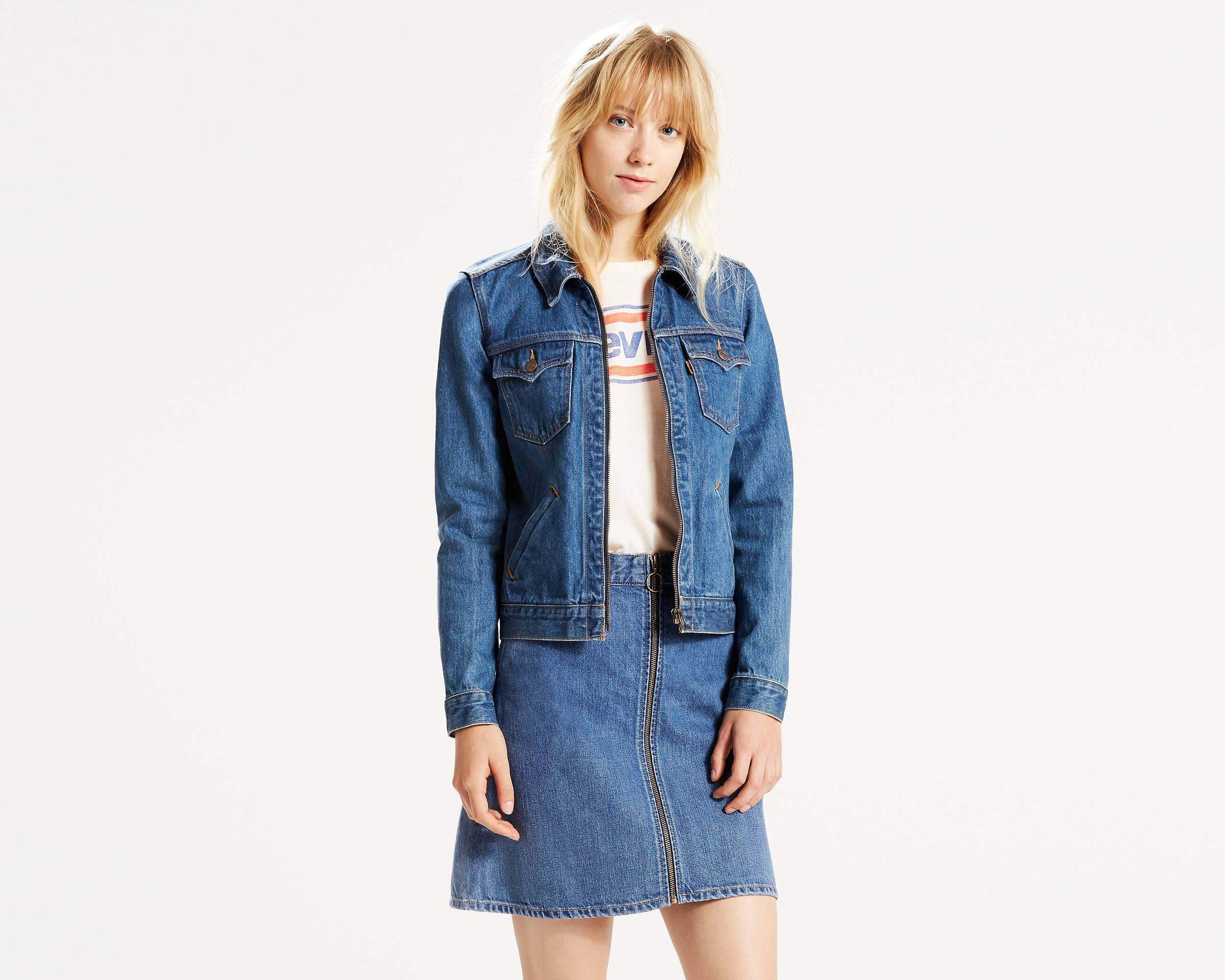 Jean Jackets for Women - Shop the Denim Trucker | Levi&39s®