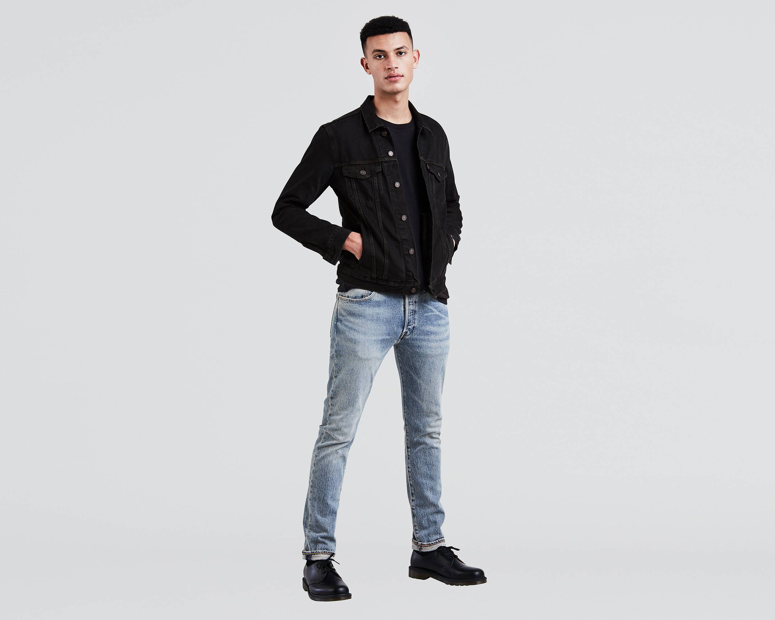 501 skinny stretch jeans hillman levi 39 s united states us. Black Bedroom Furniture Sets. Home Design Ideas