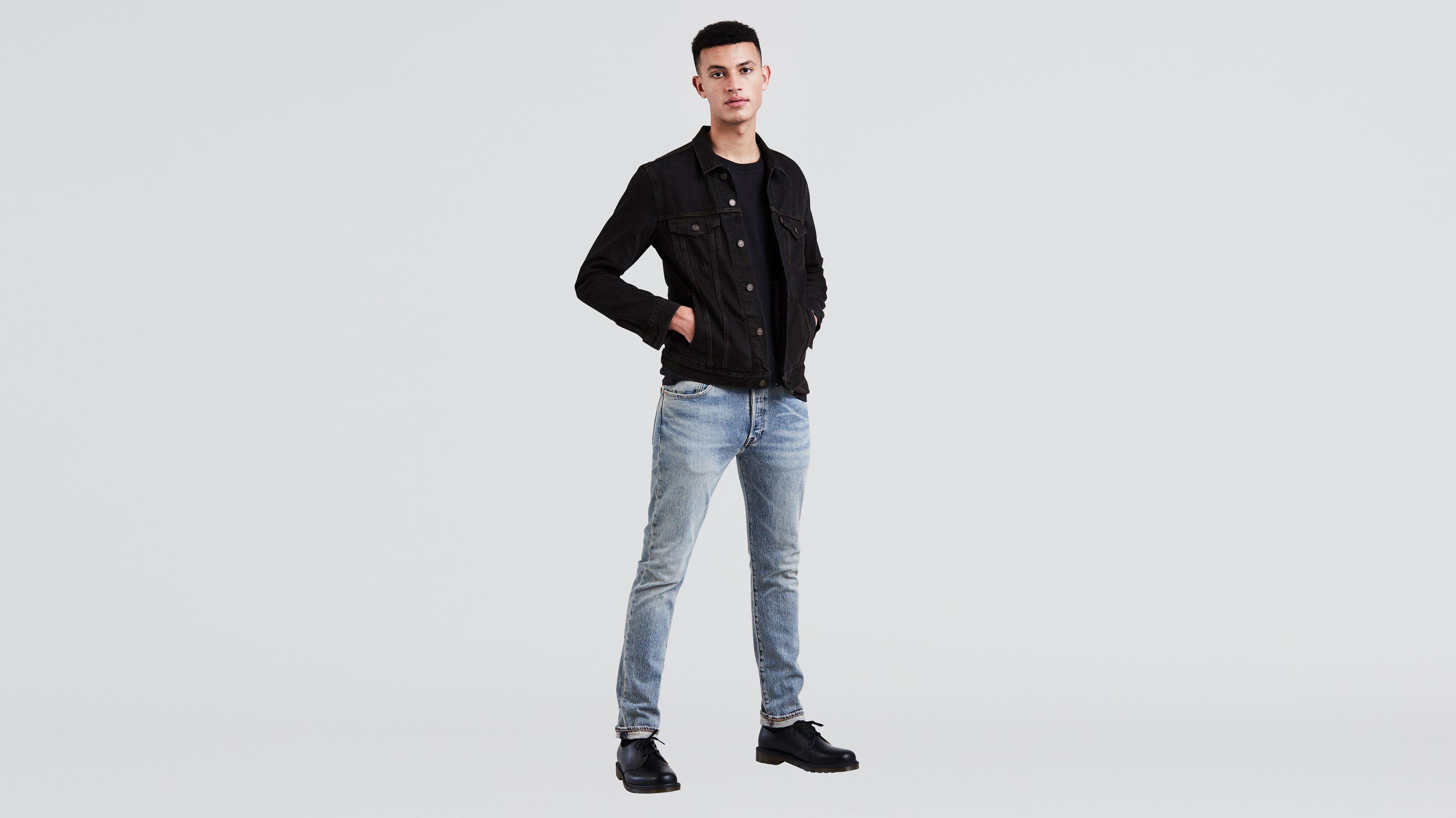 Mens Levi Stretch Denim Jeans