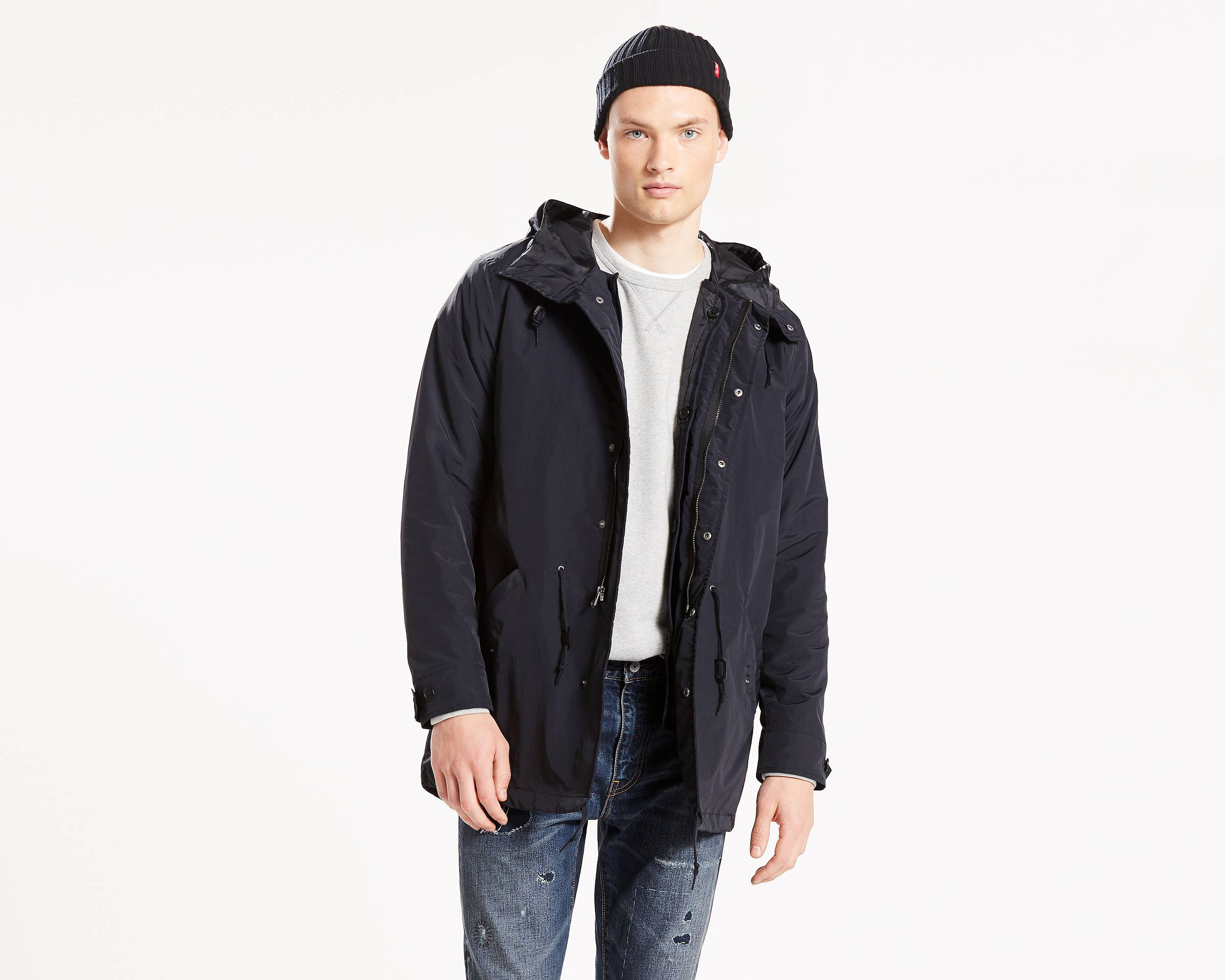 3-In-1 Fishtail Parka | Caviar |Levi's® United States (US)