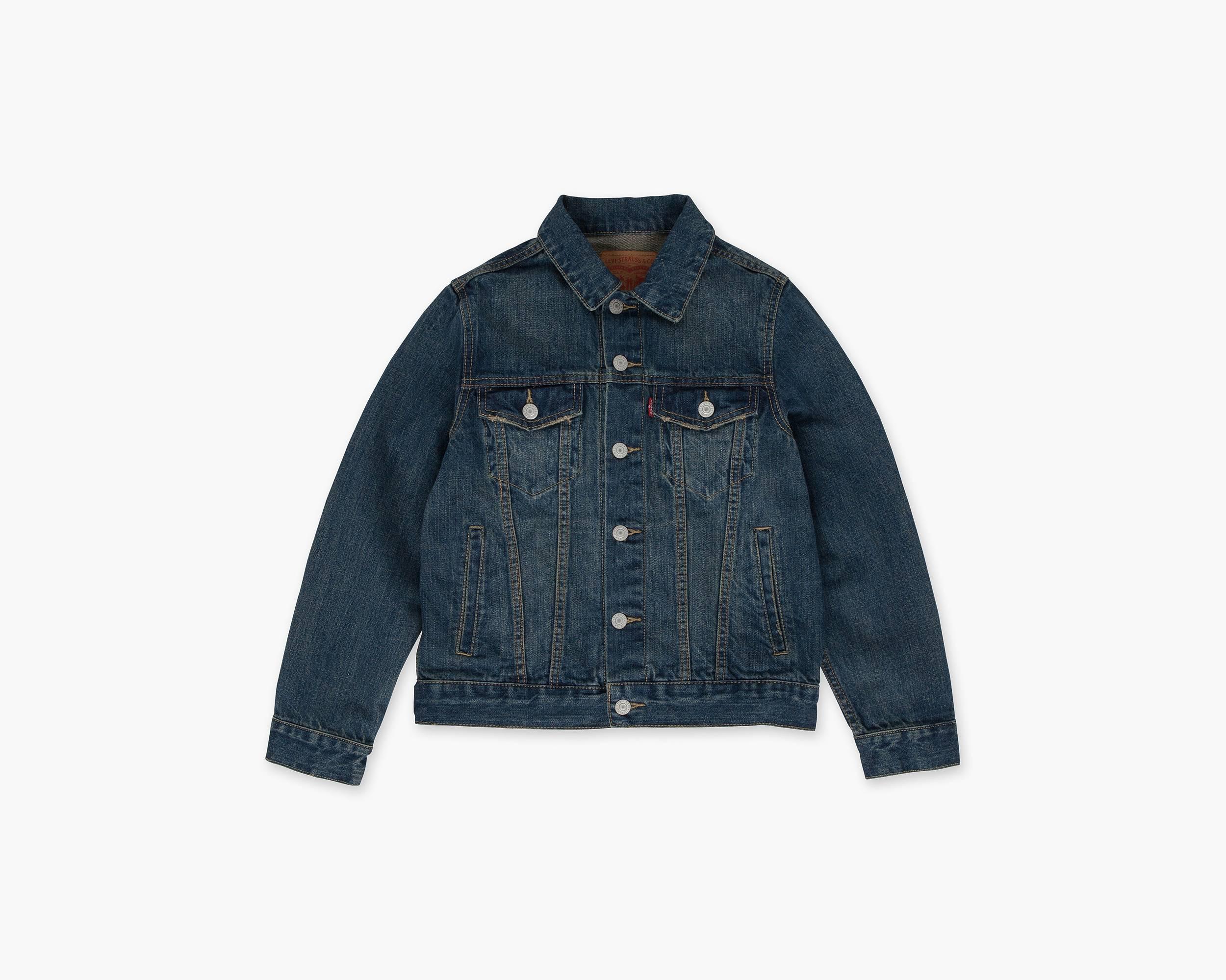 Boys Jean Jackets &amp Denim Vests - Boys Outerwear | Levi&39s®
