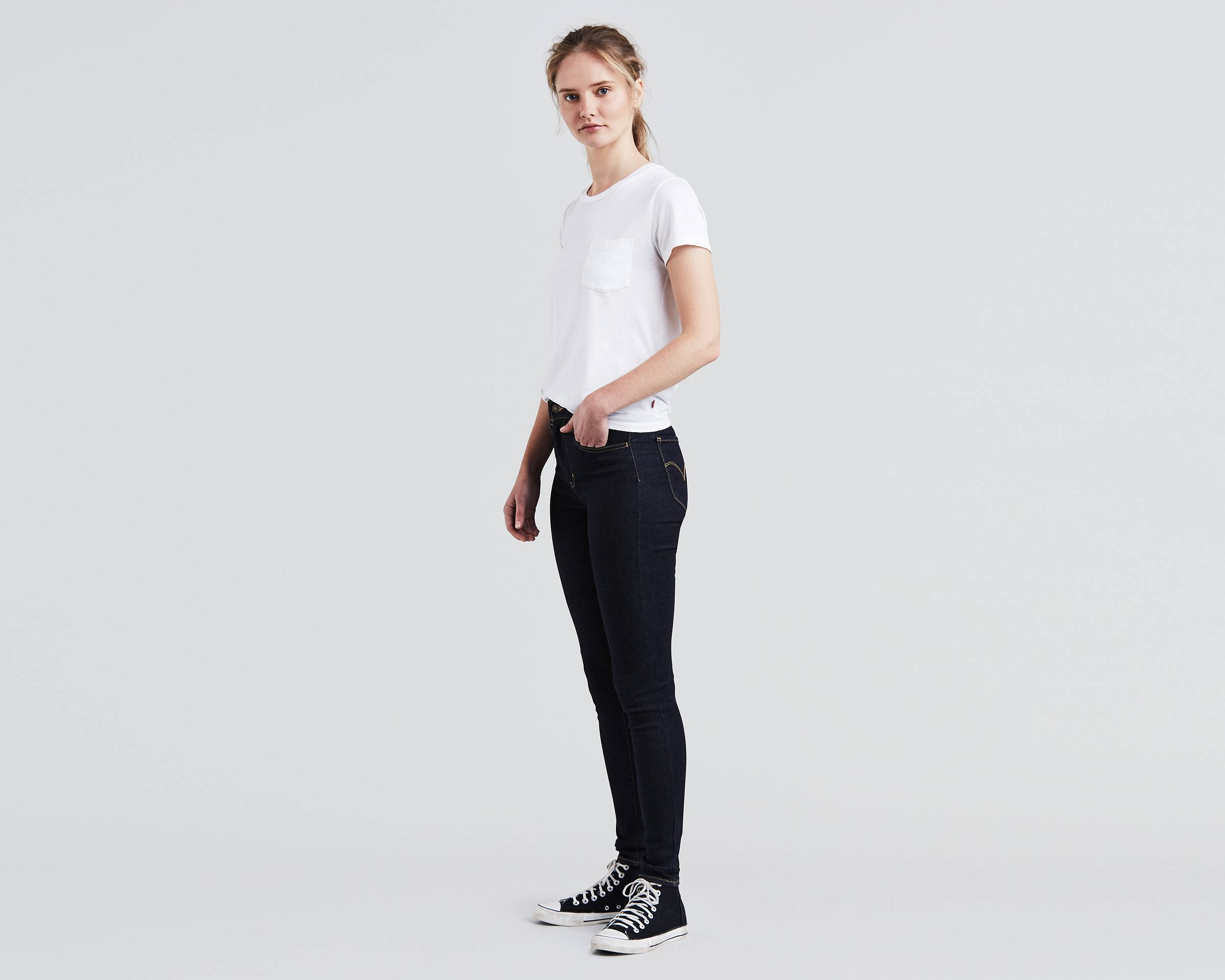 6031c9f1 Levi's 720 Hypersculpt High Rise Super Skinny Jeans at £85   love ...