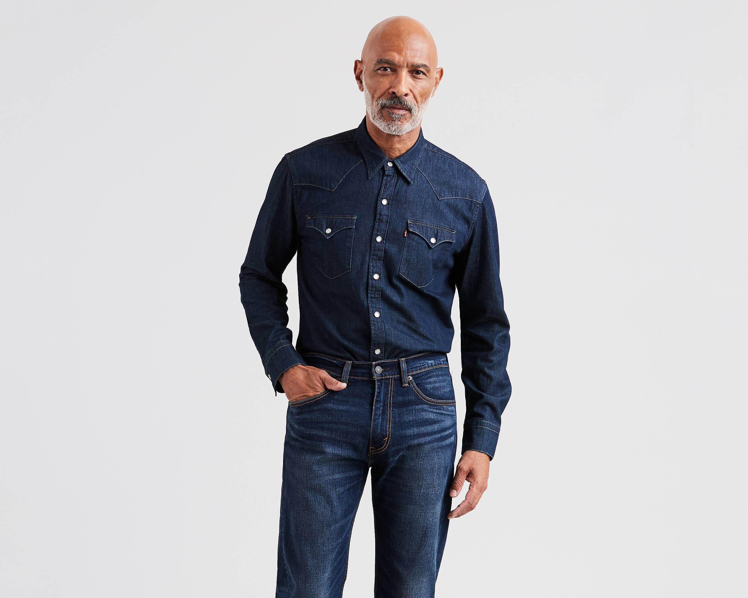 Barstow Western Shirt | Red Cast Rinse |Levi's® United States (US)