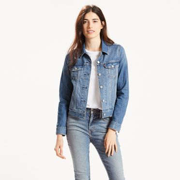 Classic Trucker Jacket | Belle Blue | Levi's® US