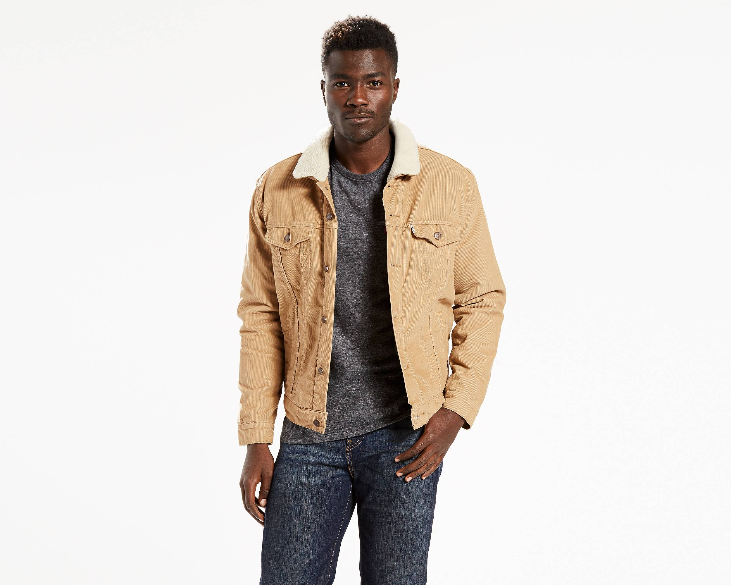 the sherpa trucker jacket chino corduroy levi 39 s great. Black Bedroom Furniture Sets. Home Design Ideas