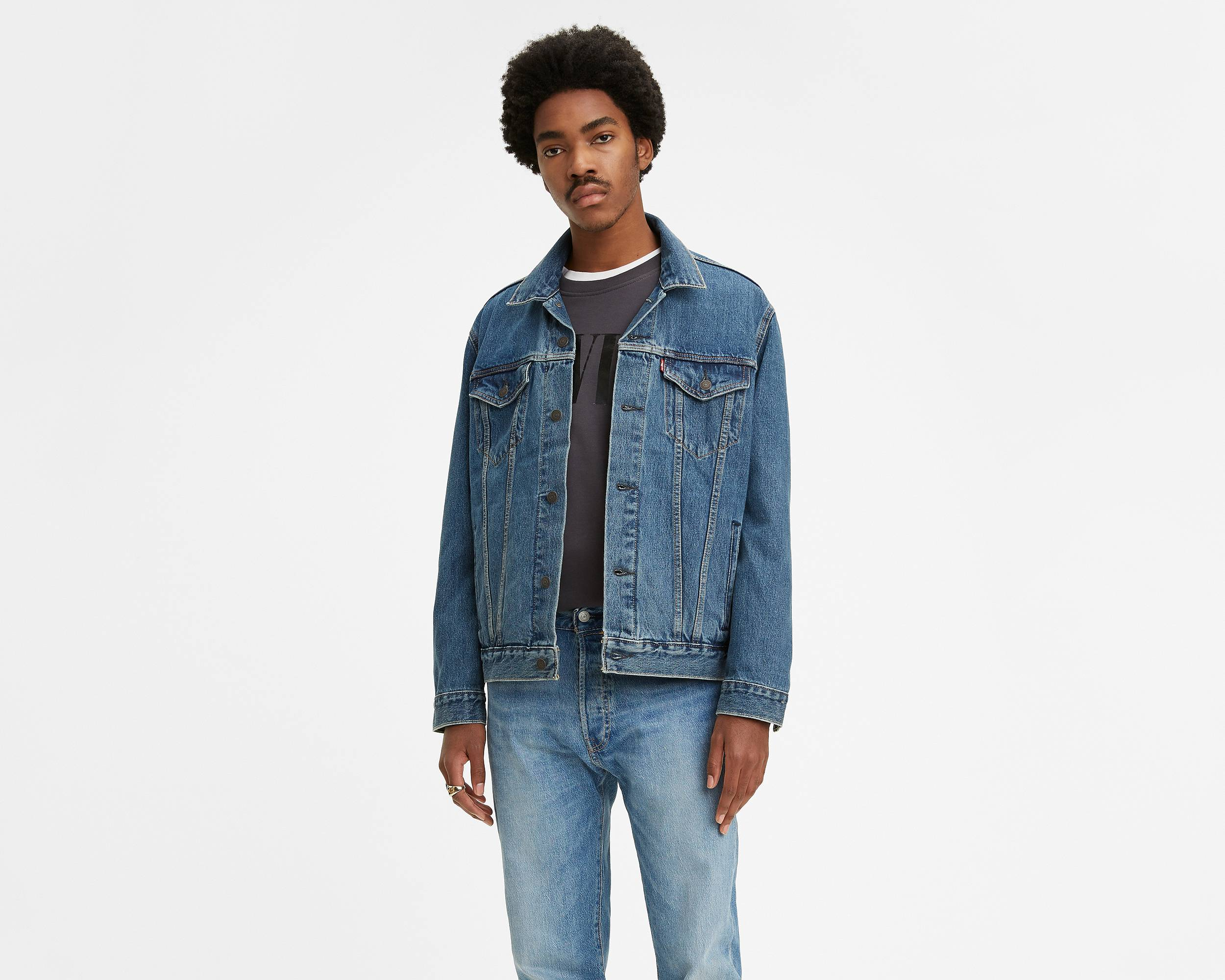 The Trucker Jacket | Medium Stonewash |Levi's® United States (US)