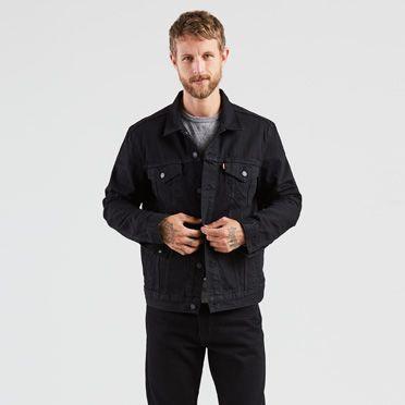 The Trucker Jacket | Polished Black |Levi's® United States (US)