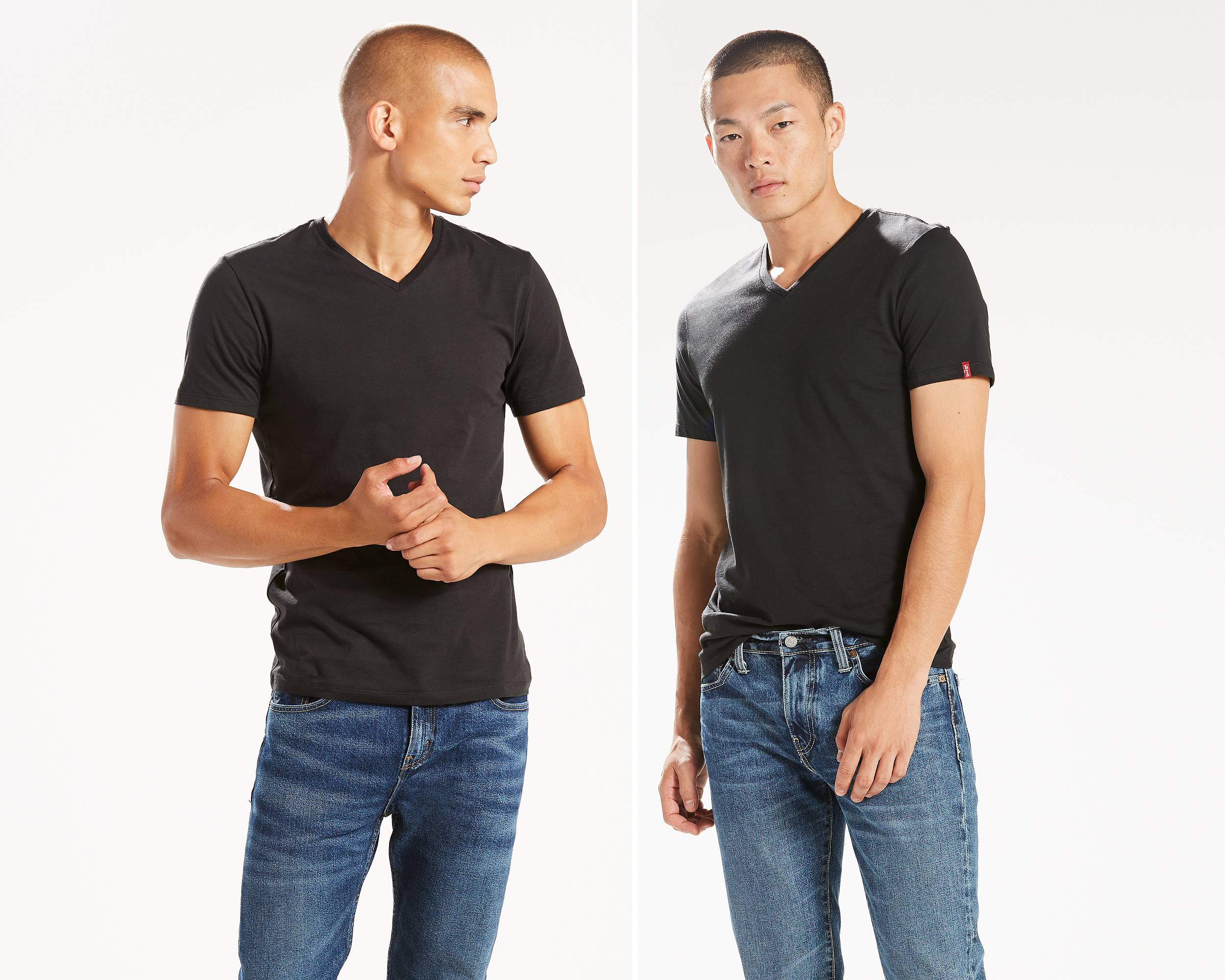 Black t shirt levis - Mouse Over Image For A Closer Look