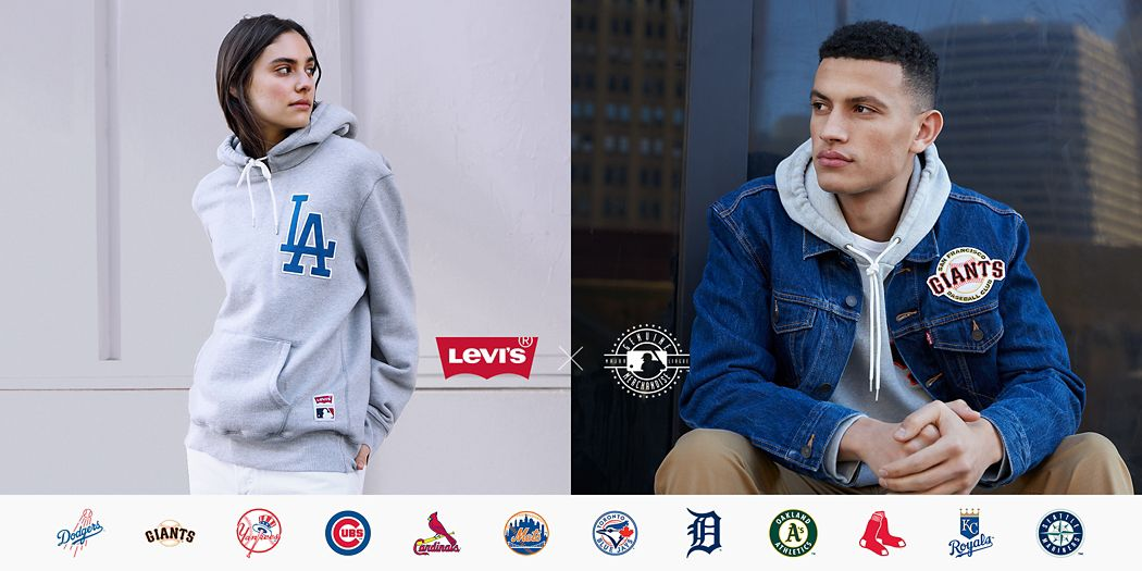online store 696f9 8face LEVI S® MLB® COLLECTION FOR MEN