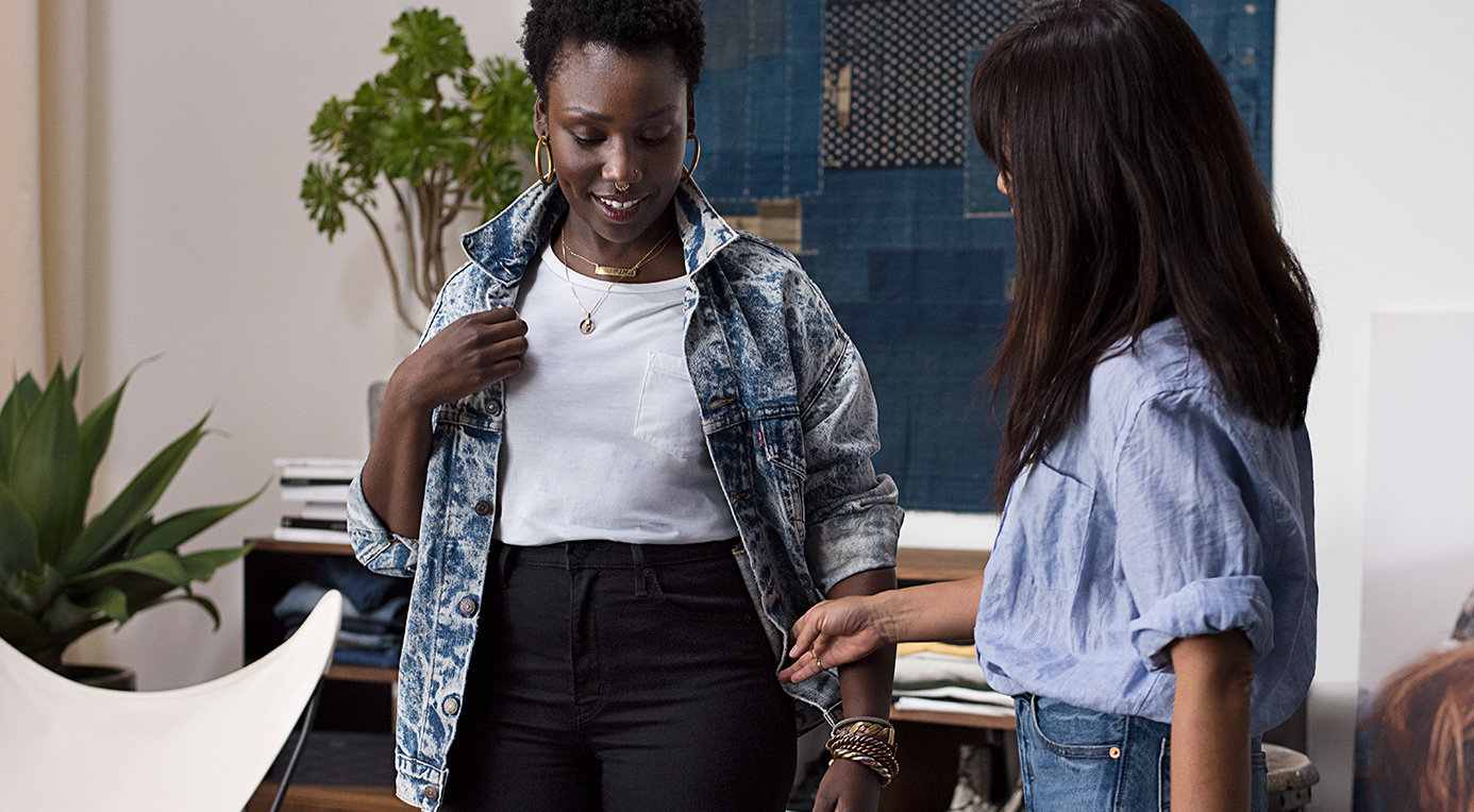 How to style high-waisted jeans for your body shape